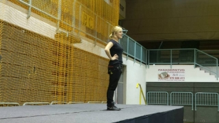 Plesni športni dan na Srednji šoli za oblikovanje Maribor 2013