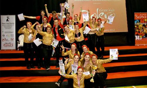Državni prvaki v street formacijah člani 2012! 1