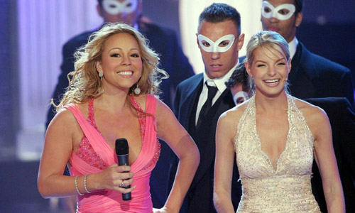 Plesal je z Mariah Carey! 1